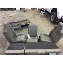 2008-2010 Ford F250 F350 Lariat 'stone' leather seats + centre console as31177