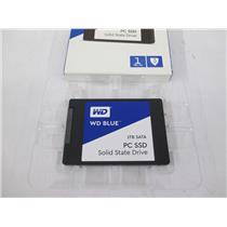 WD WDS100T1B0A Blue 1TB Internal SSD Solid State Drive - SATA 6Gb/s 2.5 Inch