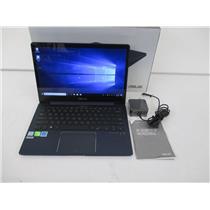 ASUS UX331UN-WS51T-BL ZenBook 13 i5-8250U 1.6GHZ 8GB 256GB M.2 SSD W10H