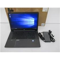 HP W4R17UC#ABA ZBook 15 G3 Mobile Workstation  i7-6820HQ 2.7GHz 16GB 512GB M.2