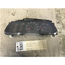 2000-2003 Ford F350 7.3L powerstroke gauge cluster tag as53651