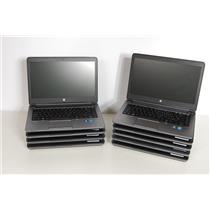 LOT of 9 HP ProBook 650 G1 Intel Core i5-4300, 4GB, No HDD, No OS, TESTED