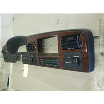 2005-2007 Ford f350 Lariat woodgrain dash bezel with climate control as53724