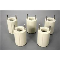 Beckman Coulter 5x Bucket Insert Adapters 50mL Conical Tube Well Warranty