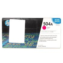New HP 504A Magenta Toner Cartridge CE253A CP3525, CM3530