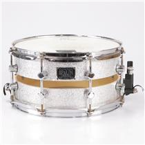 Spaun Split 7x13 Silver Sparkle Snare Drum Owned by Fall Out Boy #35955