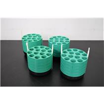 Beckman Coulter 349950 14x15mL Tube Swing Bucket Adapter Lot of 4 with Warranty