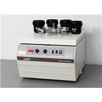 Beckman Coulter Allegra 6 Lab Benchtop Centrifuge 366802 GH-3.8 Rotor & Buckets