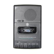 General Electric 3-5027A Portable Cassette Player Recorder