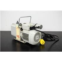 Edwards E2M1.5, G1099-80023 Rotary Vane Vacuum Pump For Parts or Repair