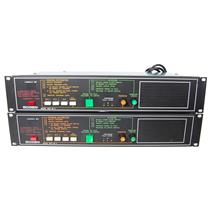 Lot of 2 Bogen MCP 35A Master Control Panel AS IS