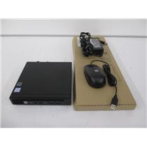 HP 3CB92US#ABA MP9 G2 RETAIL PC MINI PC i3-6100T 3.2GHZ 4GB 128GB W10P
