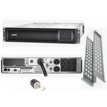 APC SMT3000RM2U Smart-UPS Power Battery Backup 2700W 120V 2U LCD Rackmount