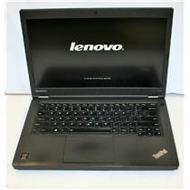 Lenovo ThinkPad T440p Core i7 4th 2.9GHz 16GB 256GB NVidia Intel - Dual Graphics