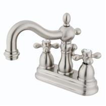 Kingston Bathroom Sink Faucet Satin Nickel KB1608AX