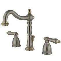 Kingston Bathroom Sink Faucet Satin Nickel KB1979AL