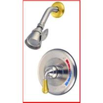 Shower Faucet Oil Satin Nickel & Brass Kingston KB639SO