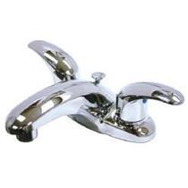 "Kingston Brass KB6621LL Legacy 4"" Centerset Bathroom Sink Faucet - Polished Chrome"