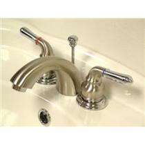 Kingston Bathroom Sink Faucet Polished Nickel KB957