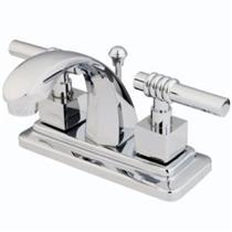 Kingston Bathroom Sink Faucet Polished Chrome KS4641Ql