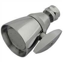 "Kingston Brass Model# K132A1 2-1/4"" Diameter Adjustable Shower Head - Polished Chrome"