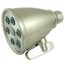 Kingston Brass Model# K138A8 Magellan Adjustable-Spray Solid Brass Shower Head - Satin Nickel
