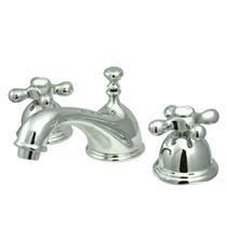"Kingston Brass Polished Chrome 8""-16"" Widespread Lavatory Faucet - KS3961AX"