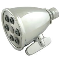 Kingston Brass Model# K138A1 Magellan Adjustable-Spray Solid Brass Shower Head - Polished Chrome