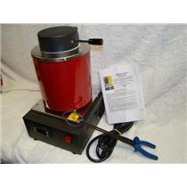 Furnace Melt Scrap Silver Gold Pour Bars 220V 1 Kilo International Voltage Good