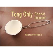Large Crucible Dish Tong (Tong Only) Flux-Gold Recovery-Melting-Silver B83