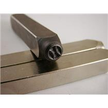 """Baseball Softball 1/4""-Large Stamp-Metal-Hardened Steel-Gold&Silver Bars"