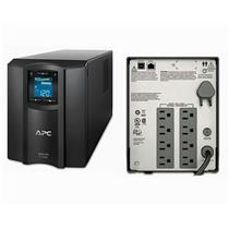 APC SMC1000 Smart-UPS Power Backup, LCD 1000VA 600W 120V Tower New Batteries