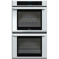 """Thermador 30"""" 13 Cooking Modes Double Electric Wall Oven Stainless ME302JP"""