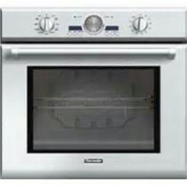 """Thermador 30"""" 4.7 cu. ft 2 Telescopic Racks Electric Wall Oven Stainless POD301J (7)"""