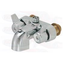 Chrome Clawfoot Tub Add-A-Shower Bathcock Diverter Faucet