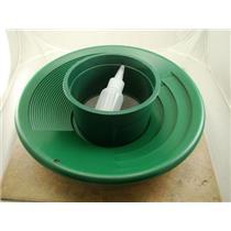 "12"" Green Gold Pan 5"" 20 Mesh Screen & Bottle Snuffer-Panning Kit-Prospecting"