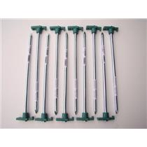 """Lot of 10-10"""" Tent Stakes - Canopy - Tarps - Eze-Ups - Equipment - Camping"""