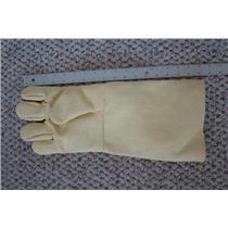 "Professional Kevlar Heat Glove-Furnace Kiln Fire 17"" Right Hand Gold Melt Safety"