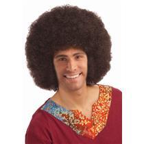 Deluxe Brown 60's Disco Afro Wig