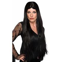 "28"" Long Black Witch Wig"