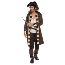 Buccaneer Captain Pirate Adult Costume