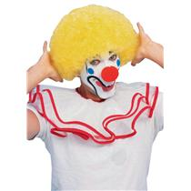 Yellow Afro Curly Clown Wig