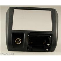 2000-2001 Nissan Xterra Radio Dash Trim Bezel with 12 Volt Outlet
