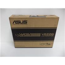 """ASUS VE228H 21.5"""" Widescreen 1920 x 1080 LED Backlit LCD Monitor -FACTORY SEALED"""