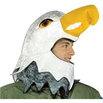 Falcon Hat American Eagle Mascot Adult Air Force