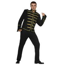 80's Pop King Michael Adult Costume Military Jacket