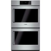 "Bosch Benchmark Series 30"" Convection SS Double Electric Wall Oven HBLP651RUC"