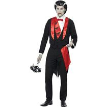 Vampire Leading Man Adult Costume Size Medium