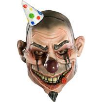 Boozo Creepy Party 3/4 Vinyl Adult Clown Mask