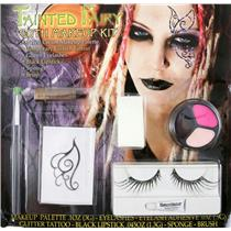 Tainted Fairy Goth Makeup Kit with False Eyelashes included